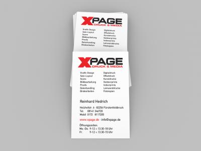 XPAGE Visitenkarte