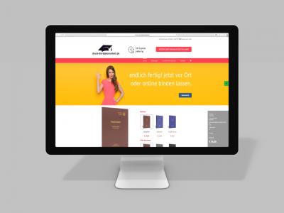 Webdesign druck-die-diplomarbeit.de